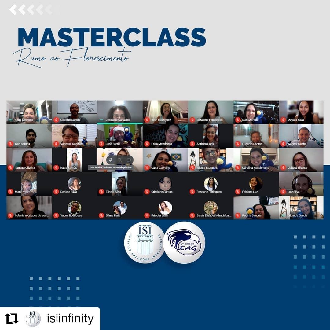 Masterclass de Psicologia Positiva do Colégio EAG