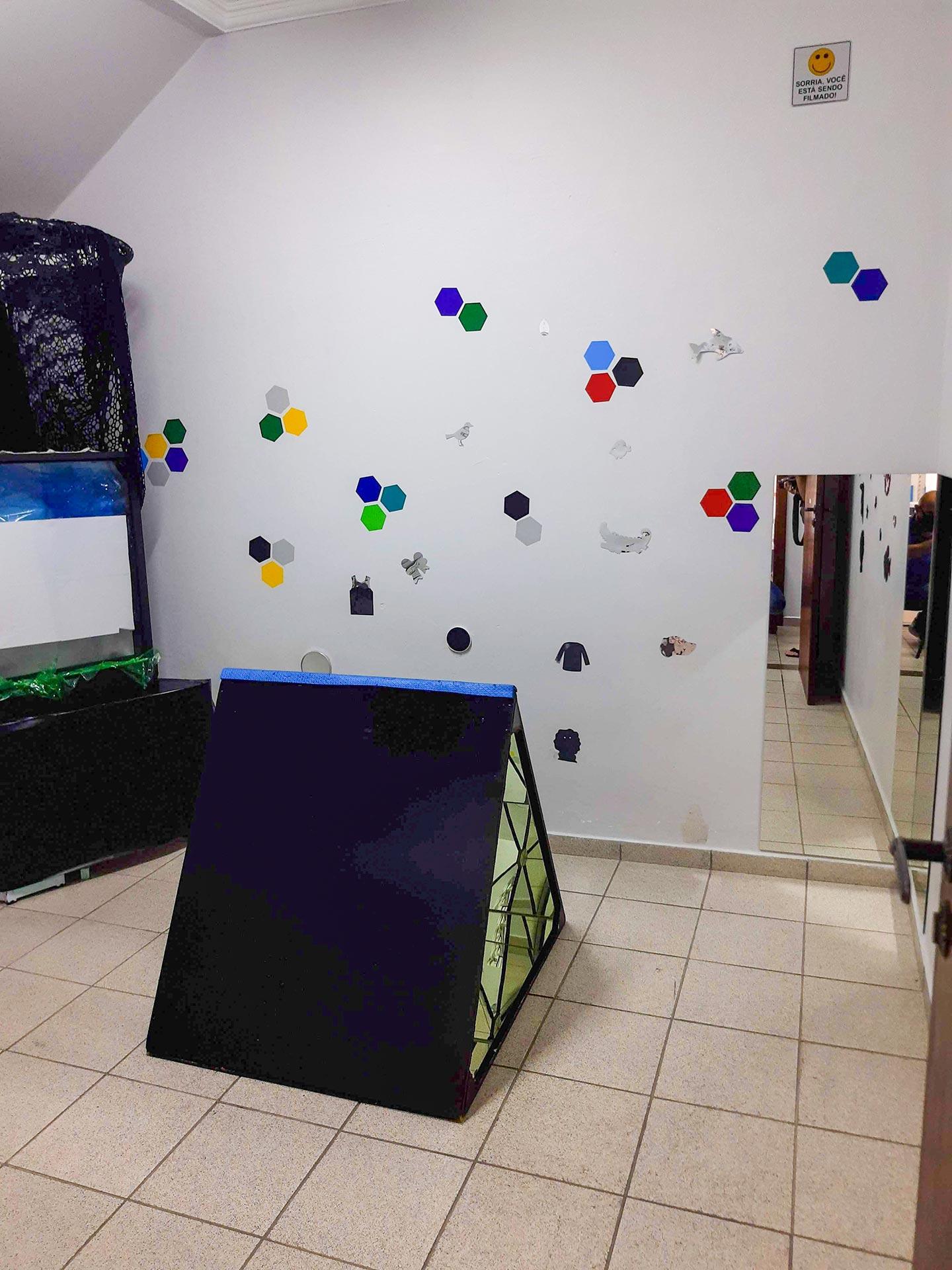 Sala de Estímulos Ópticos: Espelhos