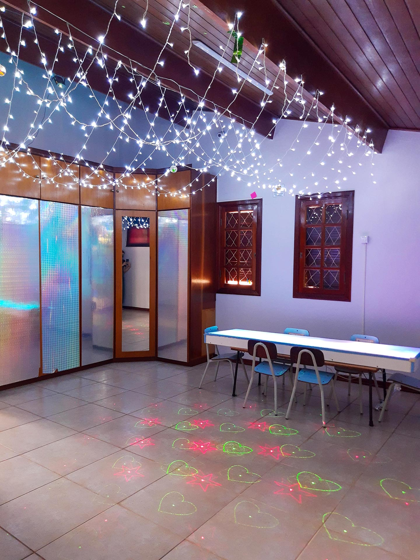 Sala de Estímulos Ópticos: Mesa de Luz