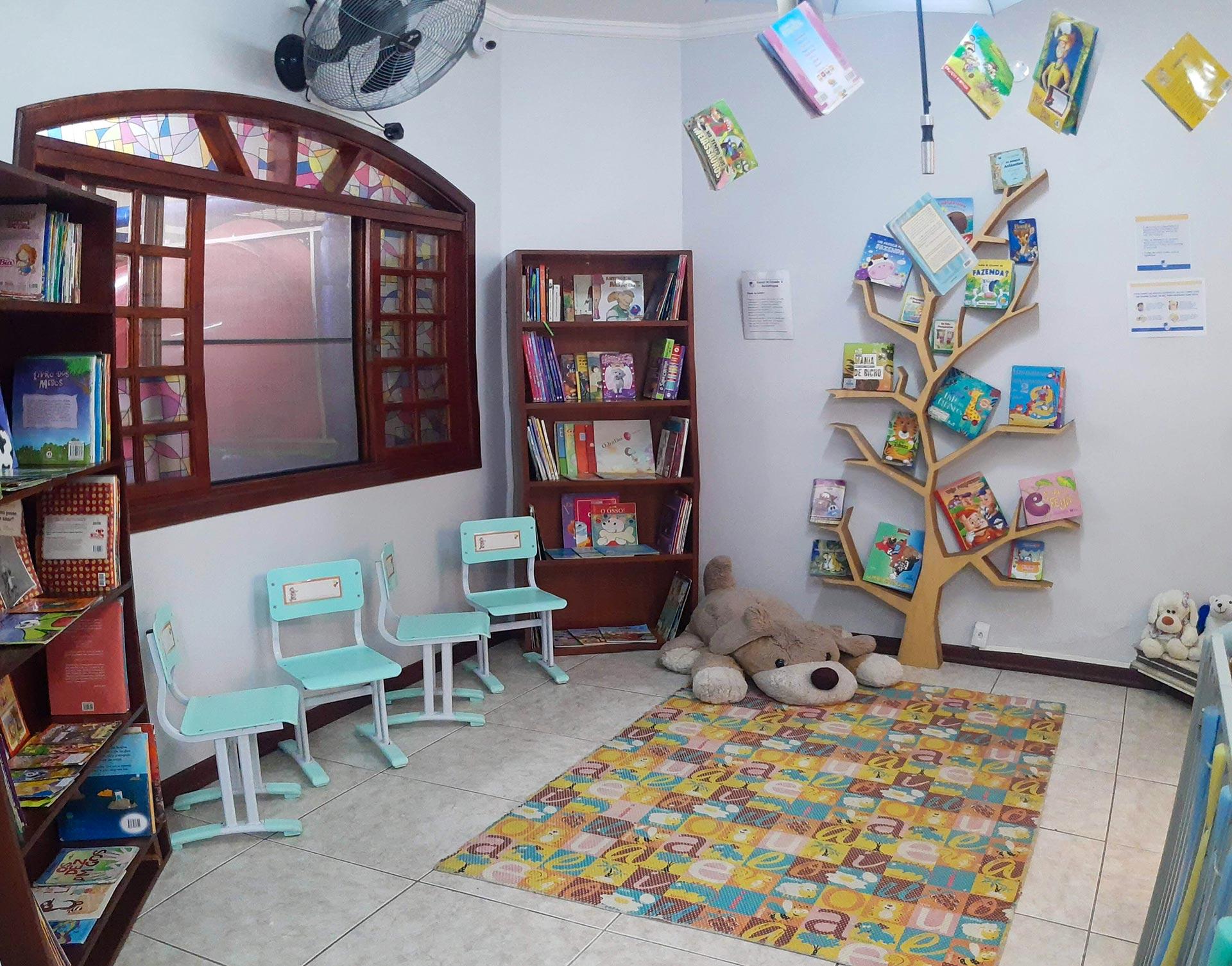 Sala de Leitura da Educação Infantil