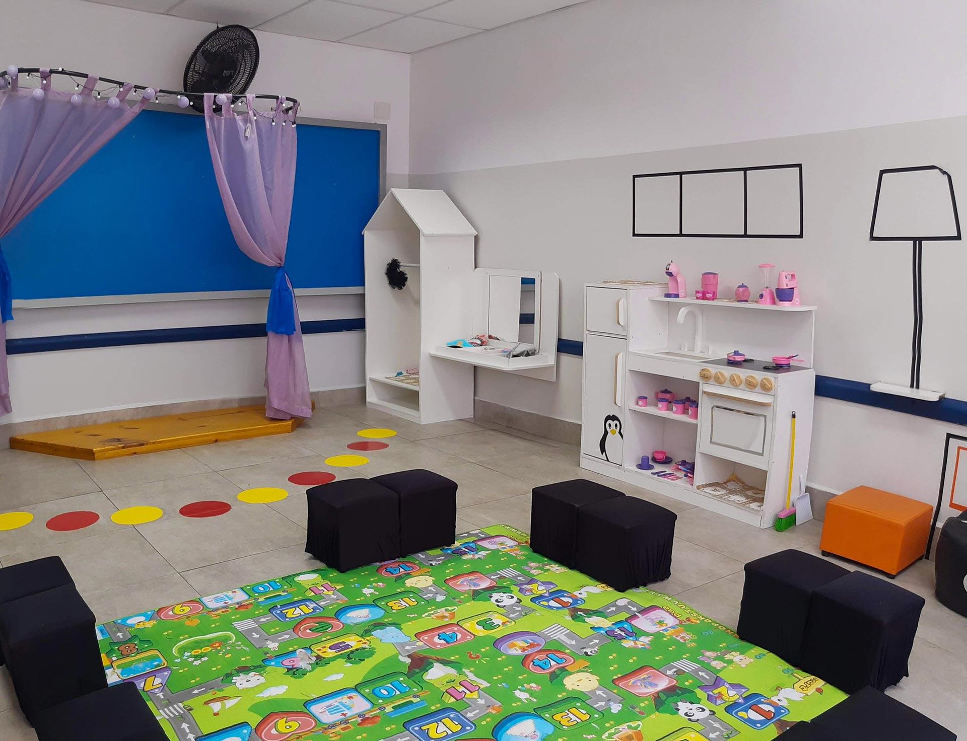 Sala de Oficinas da Educação Infantil
