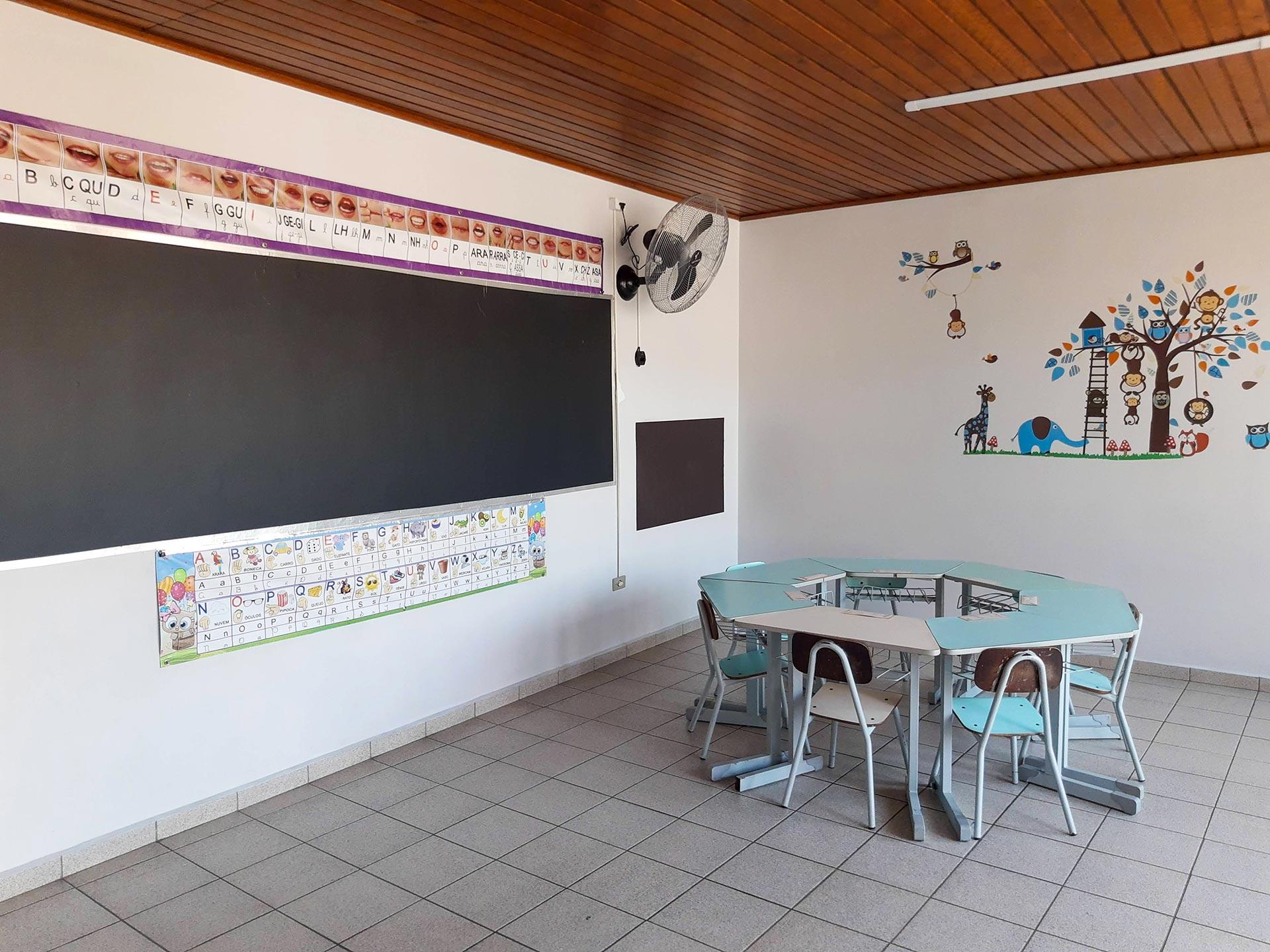 Sala de Sistematização da Educação Infantil